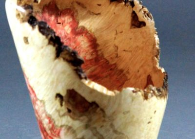 Flamed Box Elder Vase