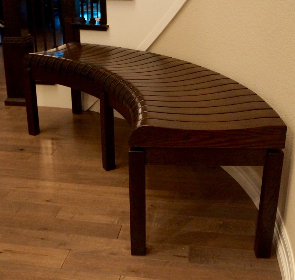 Curved Entry Bench Ghw Studio