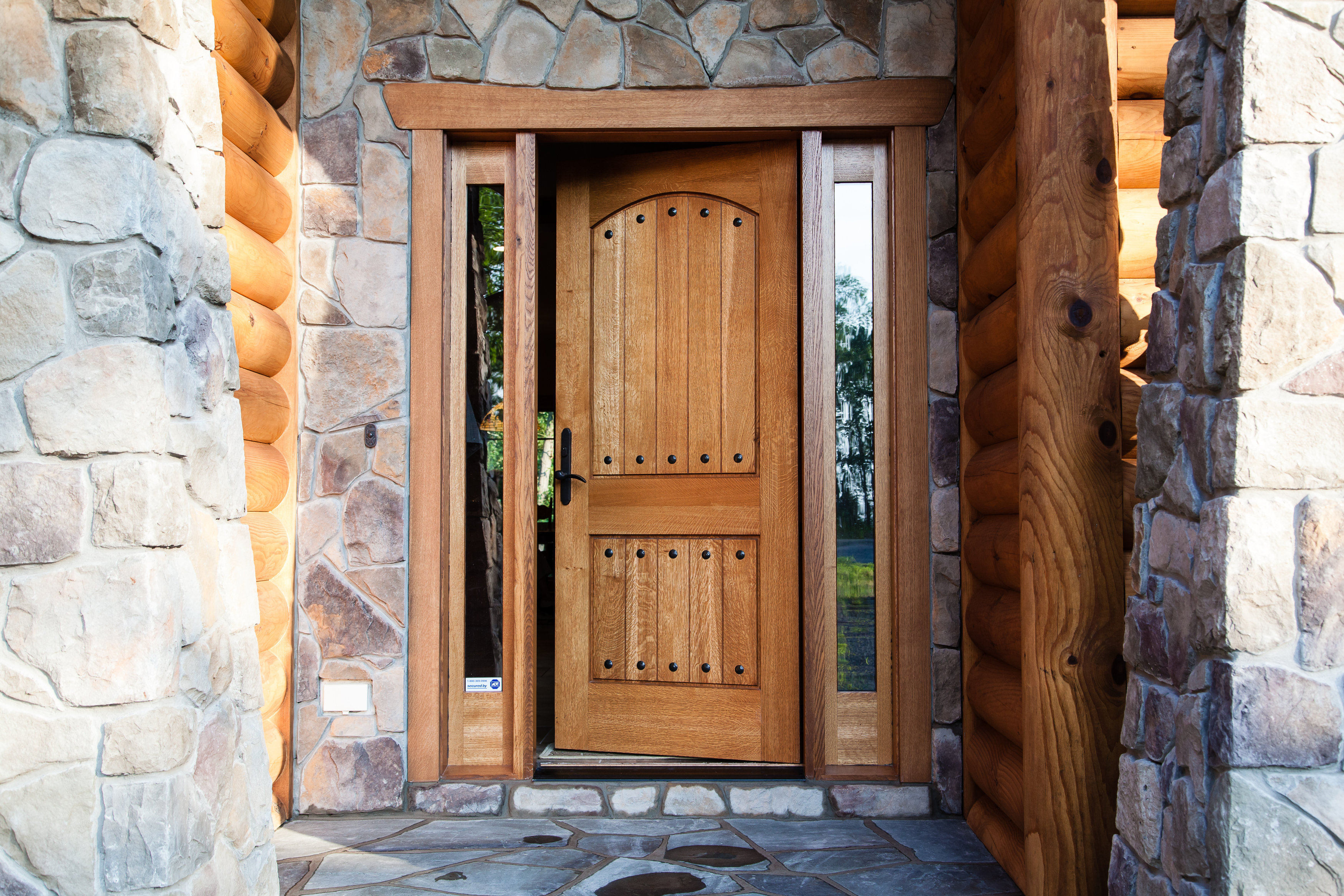 Rustic Entry Door