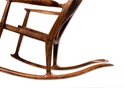 Walnut Maloof Inspired Rocker
